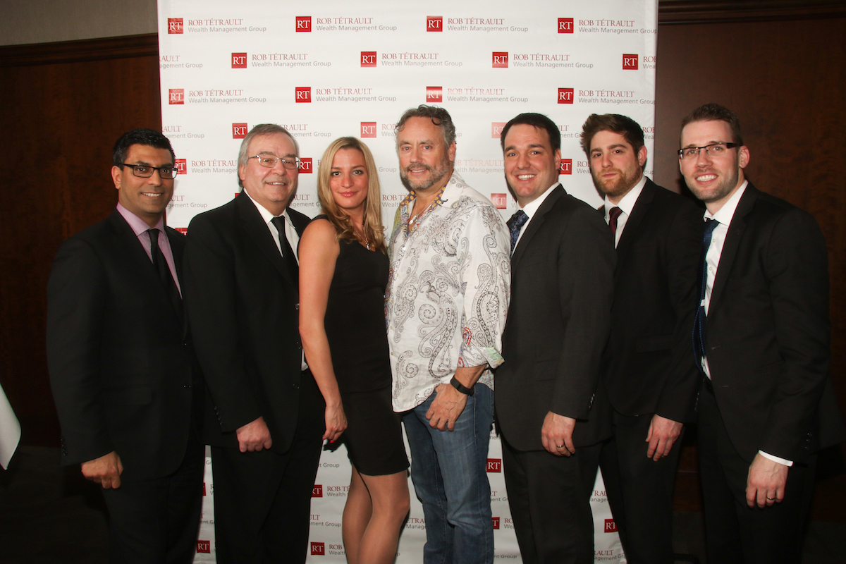 The Rob Tétrault Wealth Management Group with W. Brett Wilson