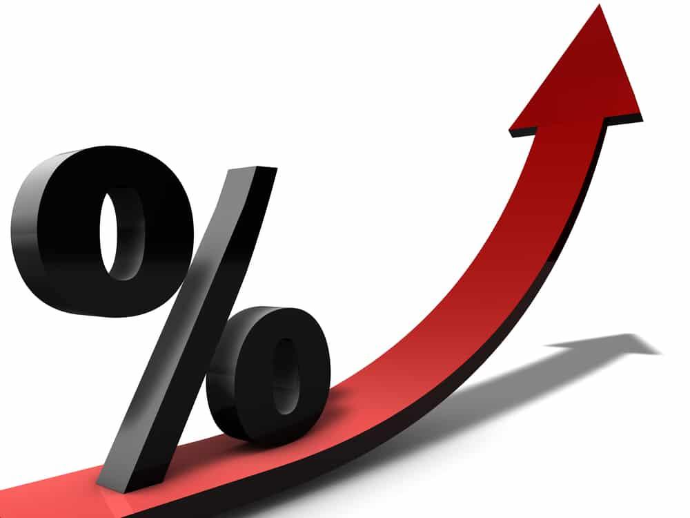 Hausse des taux d'intérêts en 2018