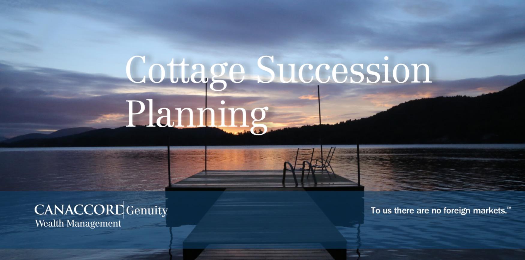 Cottage Succession Planning