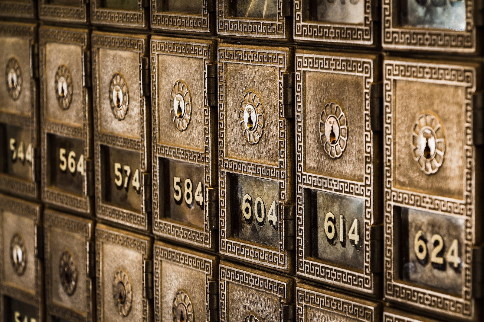 Metal Deposit Boxes Retirement