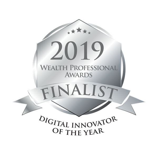 Tetrault Wealth Advisory Group is a 2019 Wealth Professional Awards Finalist for the Digital Innovator Of The Year