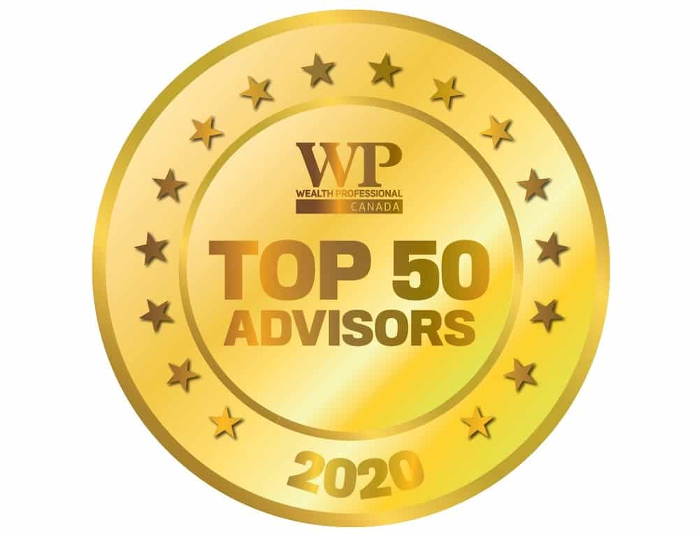 Rob Tetrault Awarded 6th Place In Top 50 Wealth Advisors in Canada Ranked by Wealth Professional - 2020