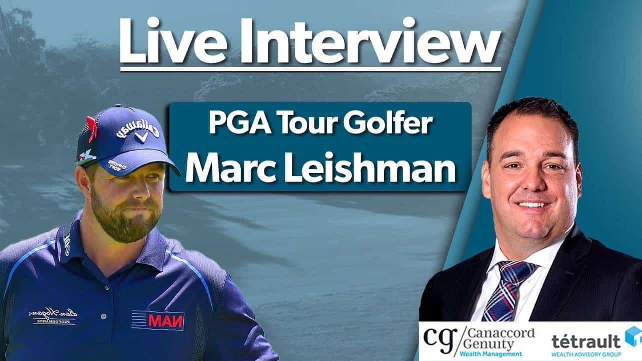 PGA Tour Golfer Marc Leishman
