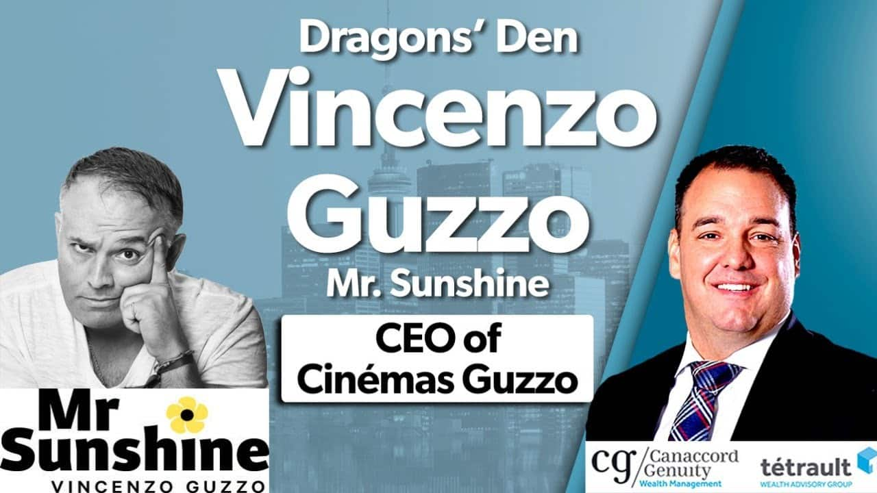 Dragons' Den Vincenzo Guzzo