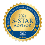 5 Star Financial Advisor Award Badge